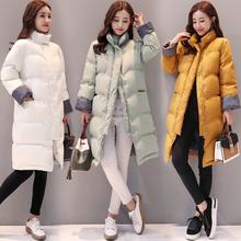 2017冬季棉衣棉服韩版潮流时尚百搭休闲中长款55139P165控价205