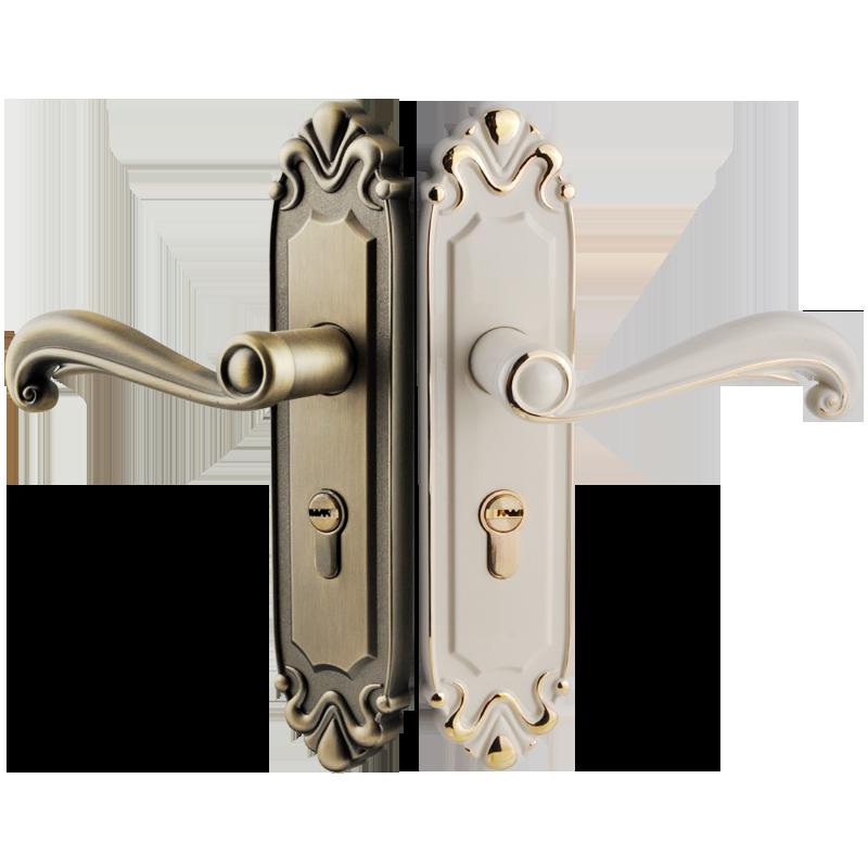 固特室内欧式卧室静音实木门房门锁质量如何