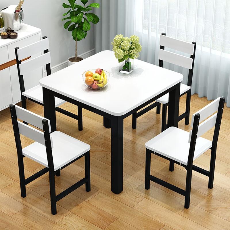 10月11日最新优惠简约现代餐馆家用小户型北欧四方桌