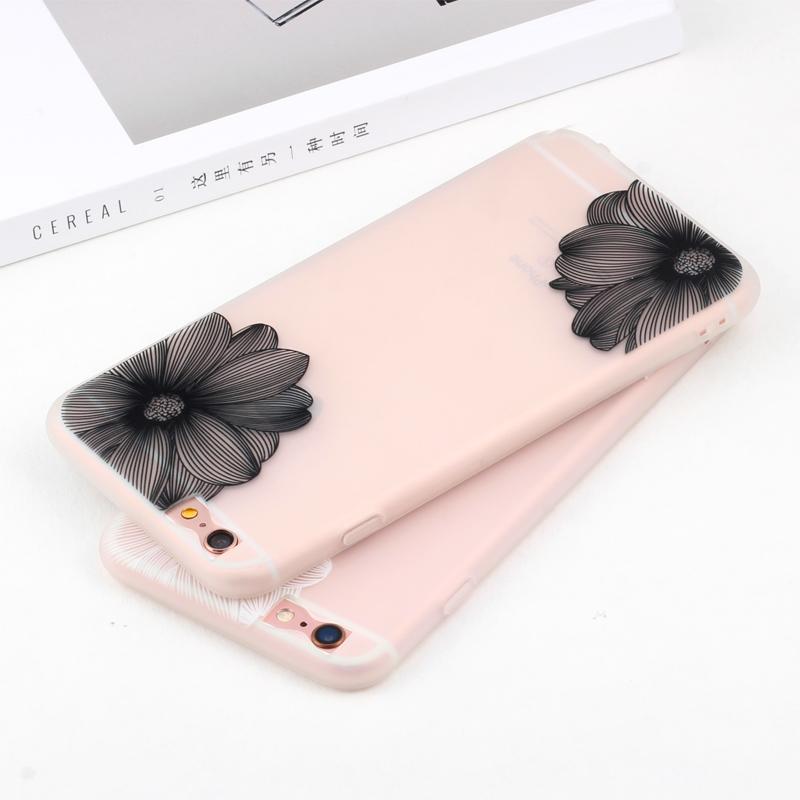 蘋果6plus手機殼指環掛繩iPhone 6splus手機殼女款簡約奢華矽膠軟
