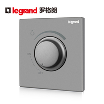Luoglang Switch socket panel yi depth Sand silver dimming switch infinity adjustable controllable wall Power Type 86