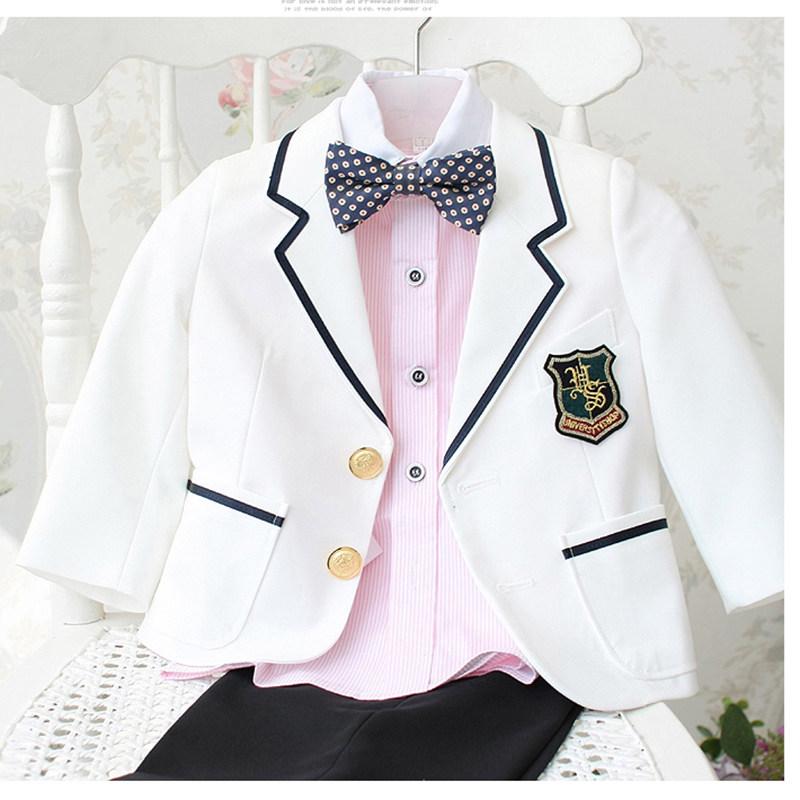 韩国风儿童西装  韩版套装 花童西装 男童西装 儿童礼服 童装西服