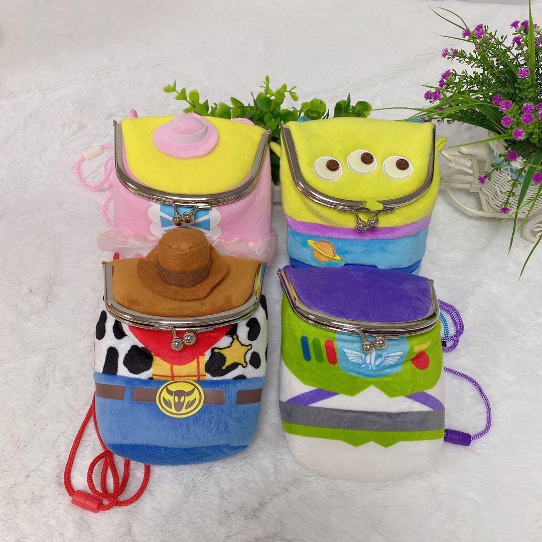 毛绒挎包手机包动漫人物钱包可爱儿童玩具包外出钥匙包单肩包