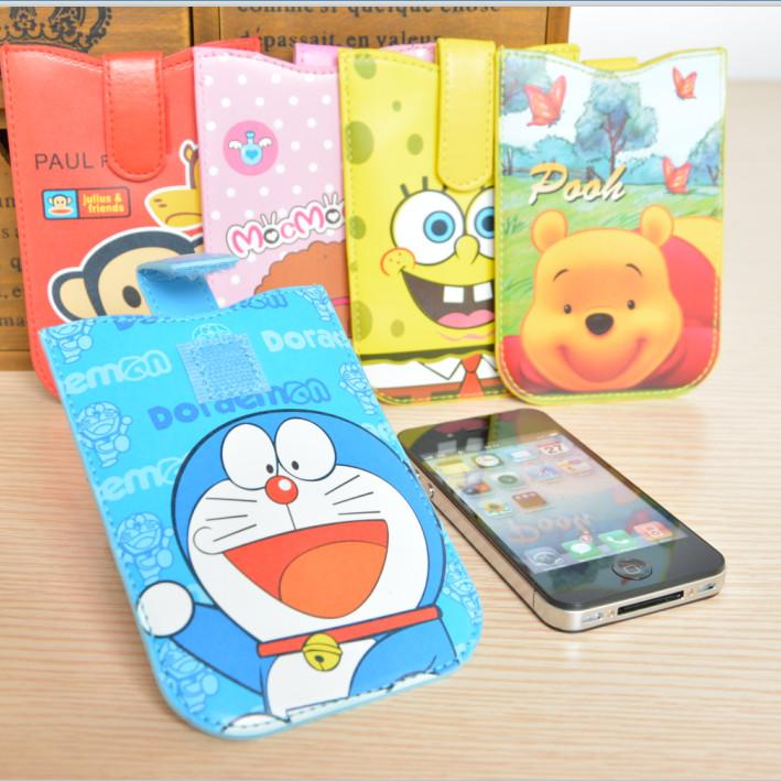 2015 году телескопические мобильный телефон защитные оболочки Корейский просо Пу кожа случае Apple Samsung Всеобщей