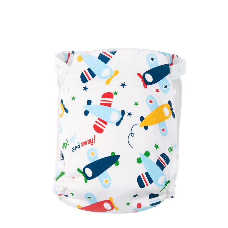 精梳純棉 可洗嬰兒尿布 新生兒用品紗布尿布褲寶寶純棉尿布兜