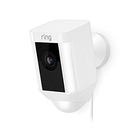 Ring Spotlight Cam Wired: Plugged-in HD security camera wit