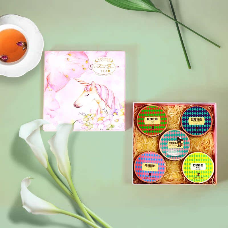 花果茶礼盒装花茶组合养生茶祛湿茶