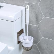 马桶刷套装清洁刷厕所刷架免打孔卫生间壁挂式洁厕刷子长柄无死角