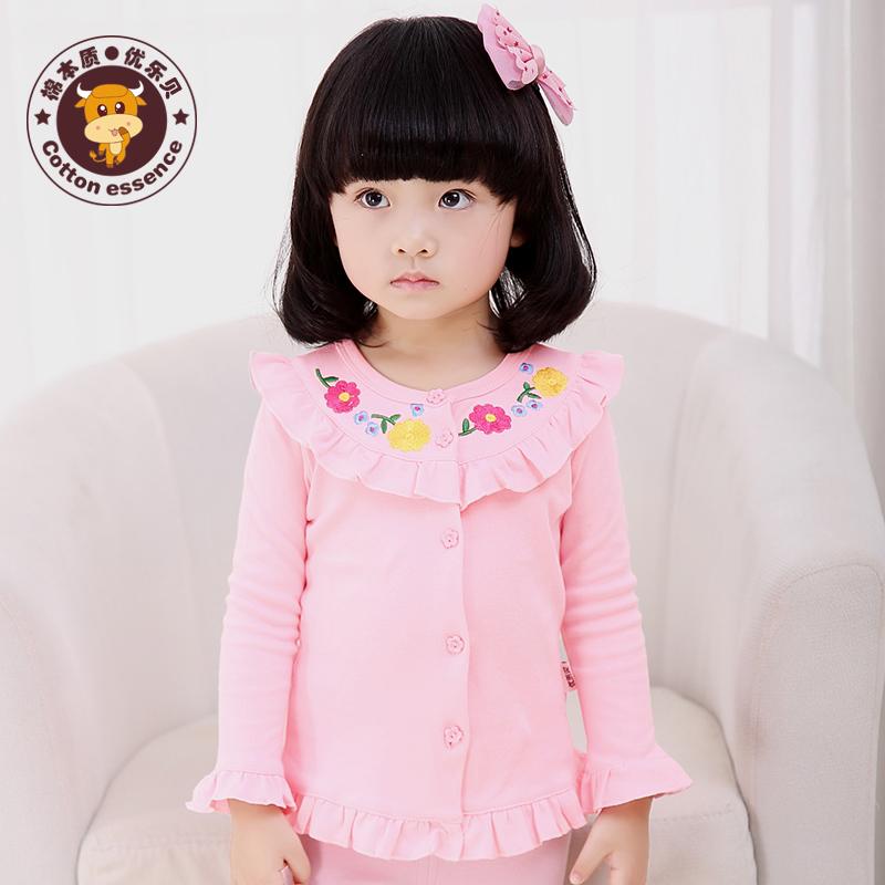 女童嬰兒純棉百搭愛上衣衫