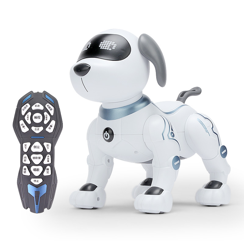 Smart robot dog remote control children's toy puppy programming stunt dog electronic boy puzzle baby robot