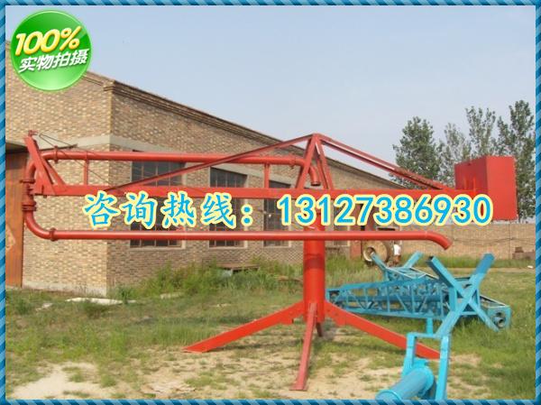 沧州盐山混凝土手动新型圆桶12米15米18米布料机架子式电动布料杆
