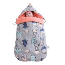 Newborn baby sleeping bag winter thick sleeping bag children sleeping bag baby autumn winter thick pure cotton anti startle
