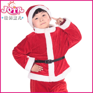 Children s clothing for girls Christmas costumes Christmas Child Christmas old boy Costume play