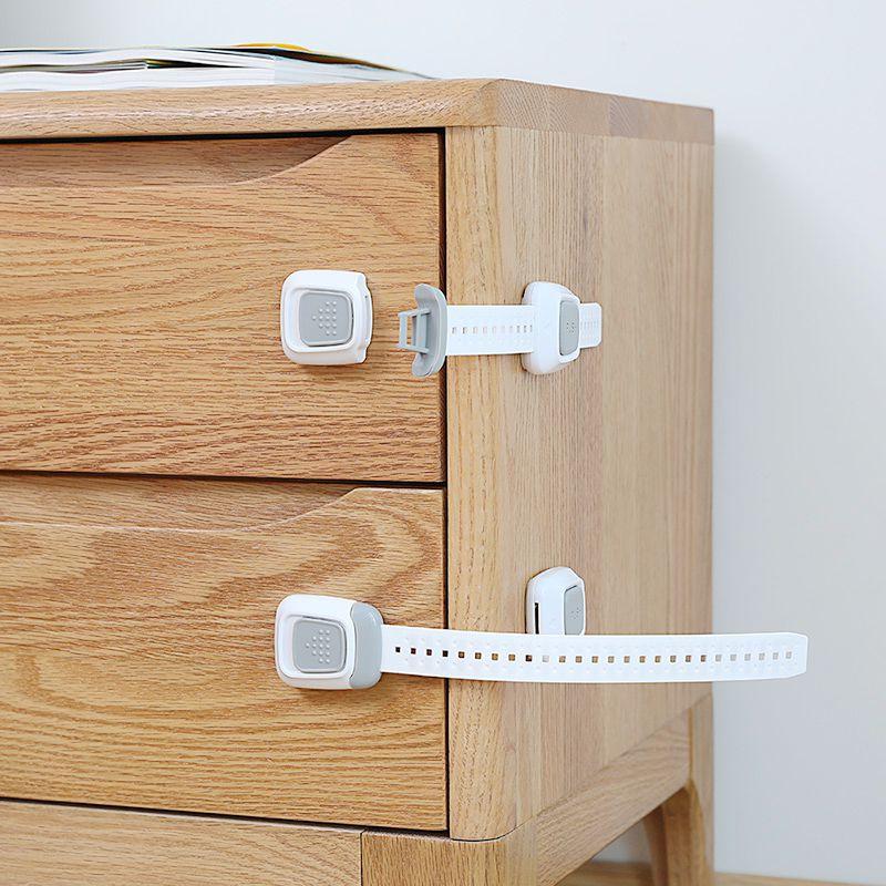 日本安全锁儿童防护婴幼儿柜门锁