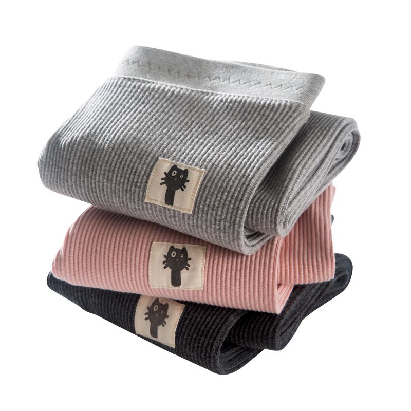 灰色外穿秋款韩版显瘦竖条纹打底裤评价好不好