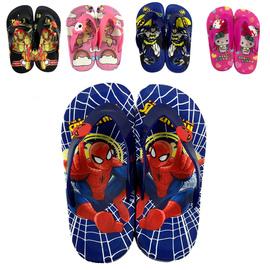夏季男女童男童拖鞋防滑人字拖蜘蛛侠卡通凉拖鞋儿童室内外夹脚图片