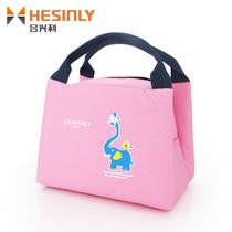 hexing Lunch Box bag insulation pocket handbag waterproof bag general thickening with rice bag aluminum foil bento Lunch Bag