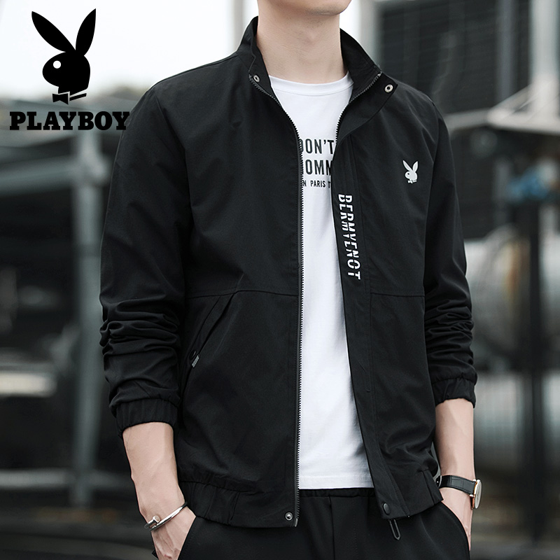 Playboy men's coat spring and Autumn New Fashion Top Casual baseball suit spring 2020 jacket men's