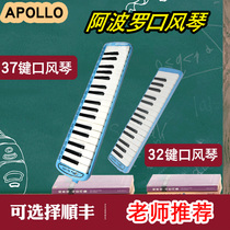 Apollo Gag piano 32 keys 37 keys Adult children students Beginner Primer classroom Teaching Send Blowpipe