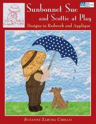 【预售】Sunbonnet Sue and Scottie at Play: Designs in
