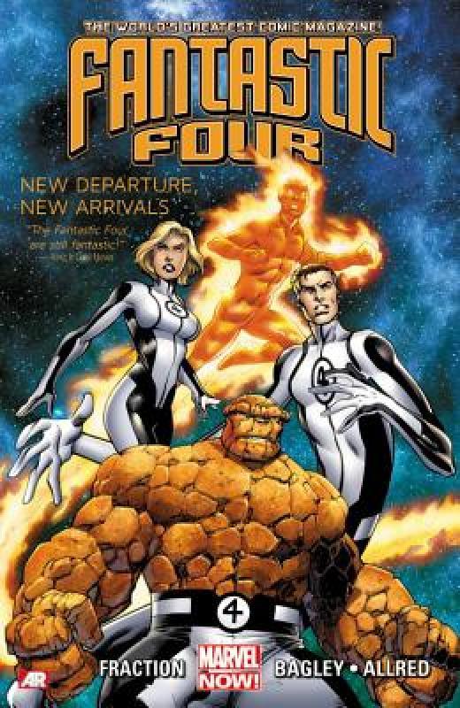 【预售】Fantastic Four, Volume 1: New Departure, New