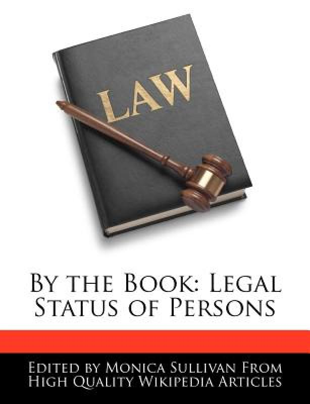 【预订】By the Book: Legal Status of Persons