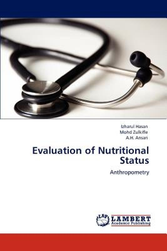 【预订】Evaluation of Nutritional Status