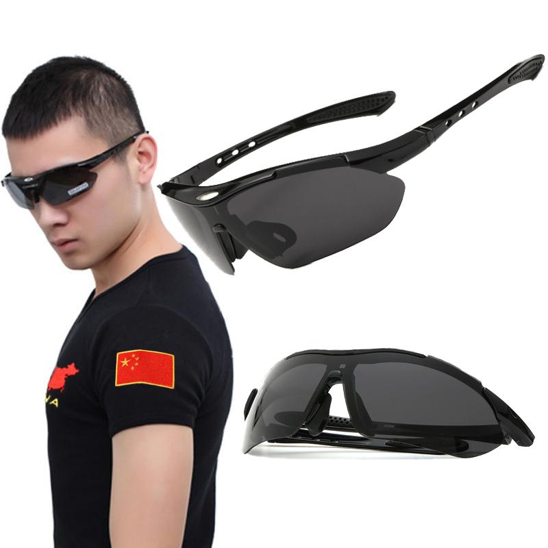 Армия фанатов на открытом воздухе очки подлинная мужчина специально неполяризованный зеркало мужской очки мужской и женщины волна движение цикл очки