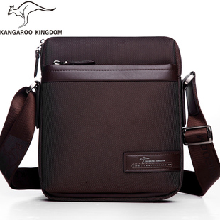 Kangaroo men Messenger shoulder male male canvas oxford cloth diagonal authentic Korean small leisure