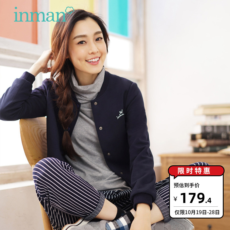 Inman Xiaoqingxin Literature and Art Fanli Collar Baseball Dress Female Short Style
