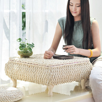 Grass Simple floating window table Japanese tatami coffee table Ikea windowsill small table European-style table Kang table
