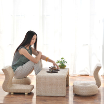 Solid wood Japanese-style tatami coffee table combination European floating window Table Kang Table table windowsill balcony Computer table