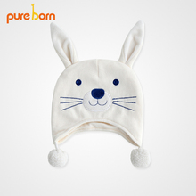 Pureborn Fox Rabbit Mould Hat for Babies and Babies Windbreak Hat for Babies in Autumn and Winter