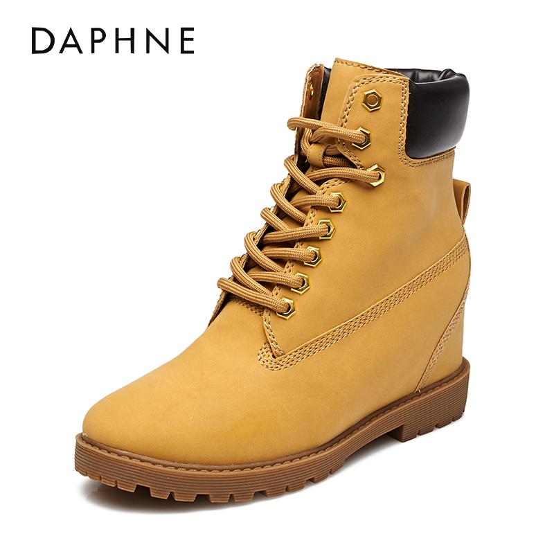 圣罗兰yslDaphne/达芙妮靴子复古马丁靴GPJ978