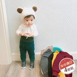 儿童加绒裤子宝宝冬装护肚保暖棉裤女童加厚外穿打底裤