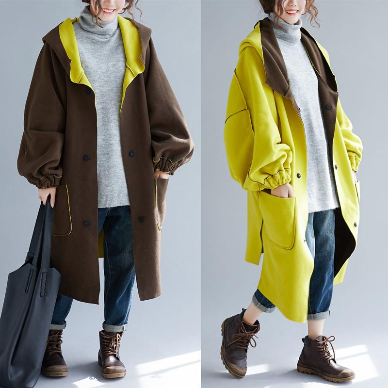特大码女装300斤秋冬减龄洋气连帽卫衣加肥加大宽松休闲连帽外套