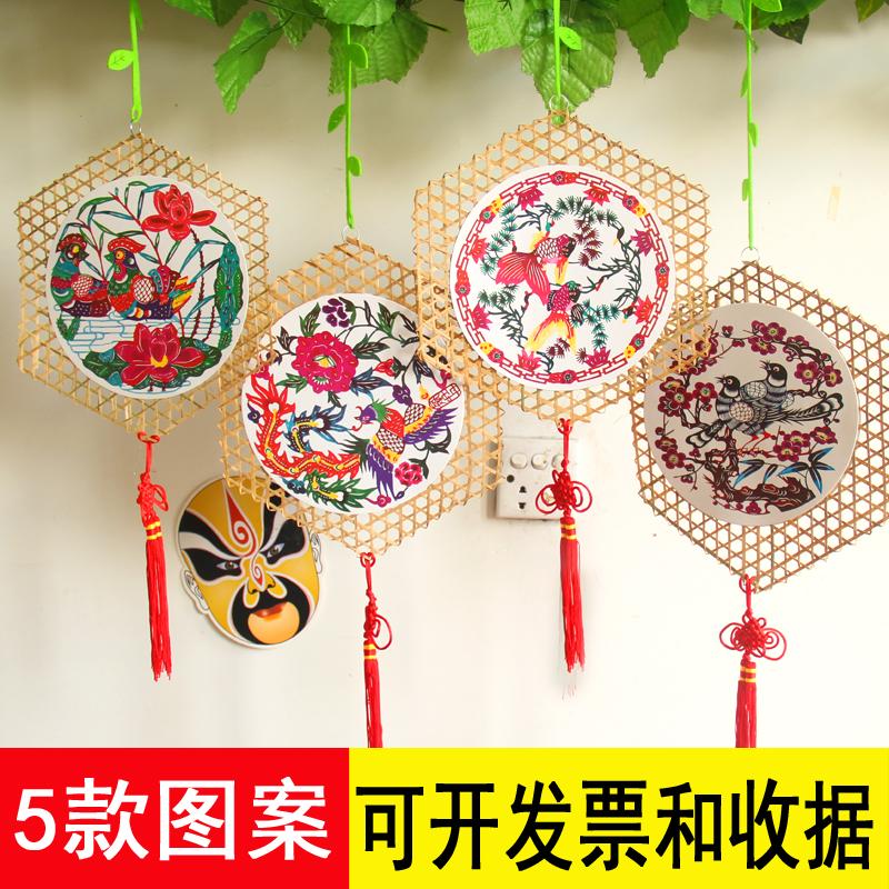 Детский сад декоративный брелок очарование творческий учить комната идти галерея ткань положить материал DIY бамбук китай ветер очарование