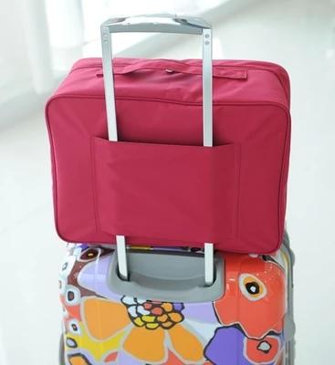 中國代購|中國批發-ibuy99|拉杆箱|包邮 旅行衣物收纳袋大容量拉杆箱 分层收纳包手提包 行李箱挂袋