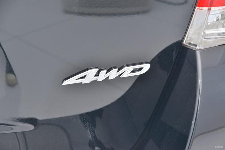 09-14款汉兰达尾箱后面4WD V6车标贴纯金属V6原车排量字标尾箱
