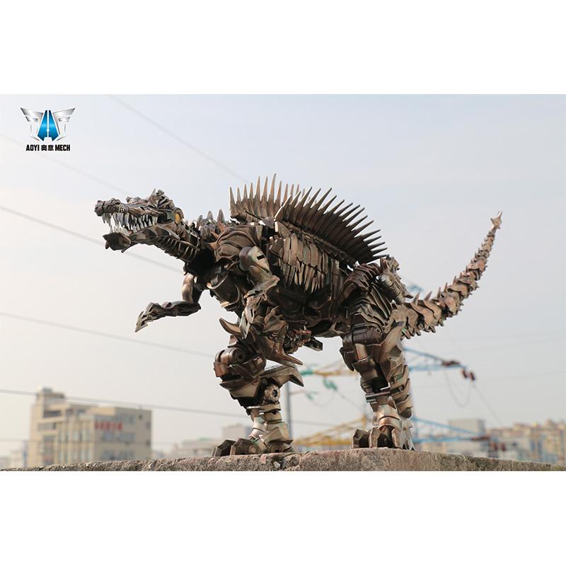 热销7件包邮黑曼巴变形玩具金刚模型机器人恐龙蔑视放大远古巨兽迅猛龙手办
