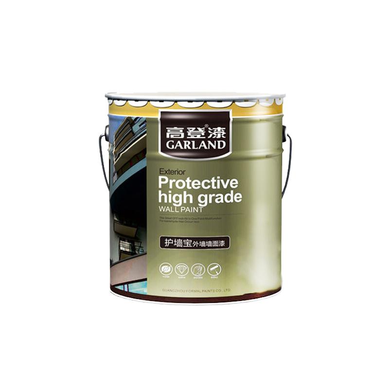 高登外墙漆防水防晒室外抗裂乳胶漆好用吗