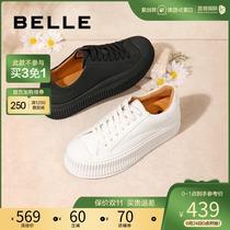 WJN04CM0春商场同款日系小鞋女百搭学生板鞋厚底鞋2020他她Tata