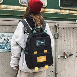 书包女大学生韩版高中背包ins风时尚校园背包可装14寸电脑双肩包