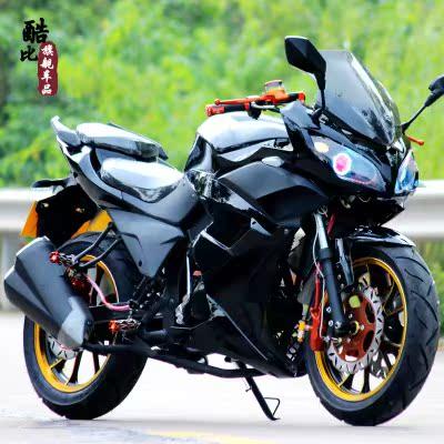 地平线摩托车跑车重机车 雅马哈助力车本田越野125鬼火趴赛公路赛