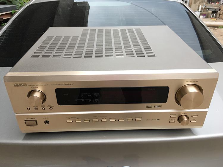 二手日本进口DENON/天龙AVR-2802功放 家用DTS 6.1声道音响功放机
