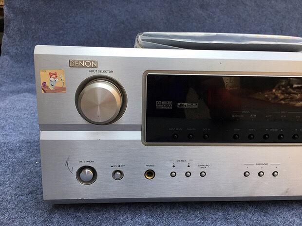 二手原装进口DENON/天龙 AVR-1807家用7.1声道家庭影院音响功放机