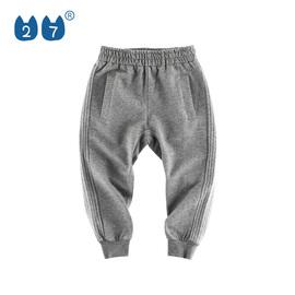 2020春夏新款2020儿童长裤韩版童装男童纯棉休闲裤洋气小孩运动裤图片