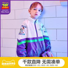 【玩具总动员】太平鸟童装春儿童夹克