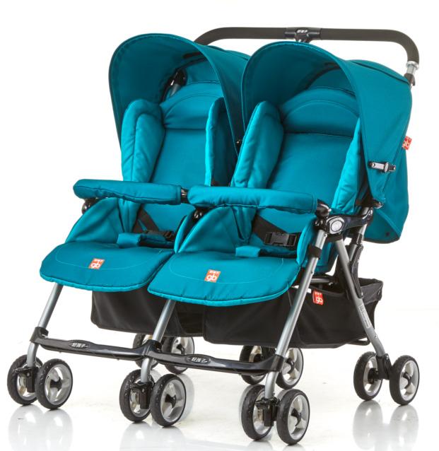 好孩子双胞胎推车 折叠 婴儿手推车 可躺可坐多功能宝宝车