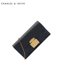 Charles & Keith Long Wallet ck6-10840116 Mini commuting bag WOC chain bag